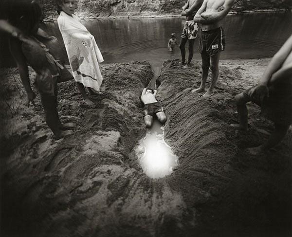 Sally Mann, American, born 1951, The Ditch, 1987, Gelatin silver print