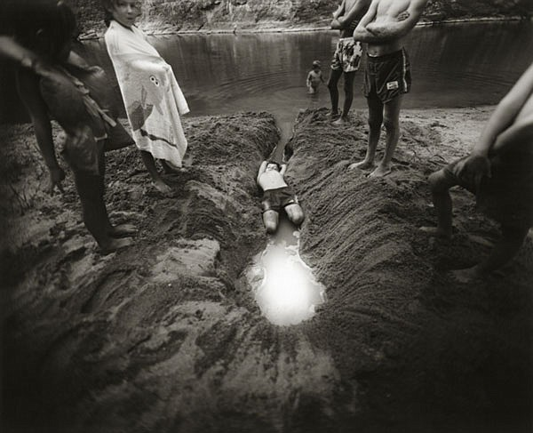 Sally Mann, American, born 1951, The Ditch, 1987, Gelatin silver print