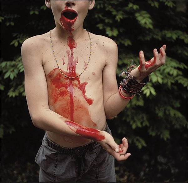Sally Mann, American, born 1951, Bloody Nose, 1991, Silver dye-bleach print