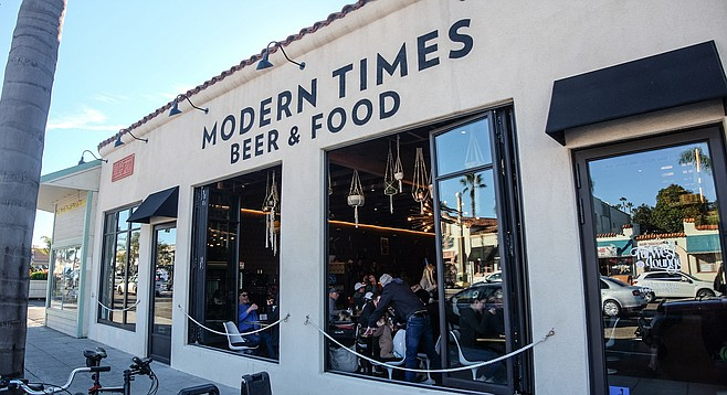 A vegan restaurant and tasting room on the Coast Highway
