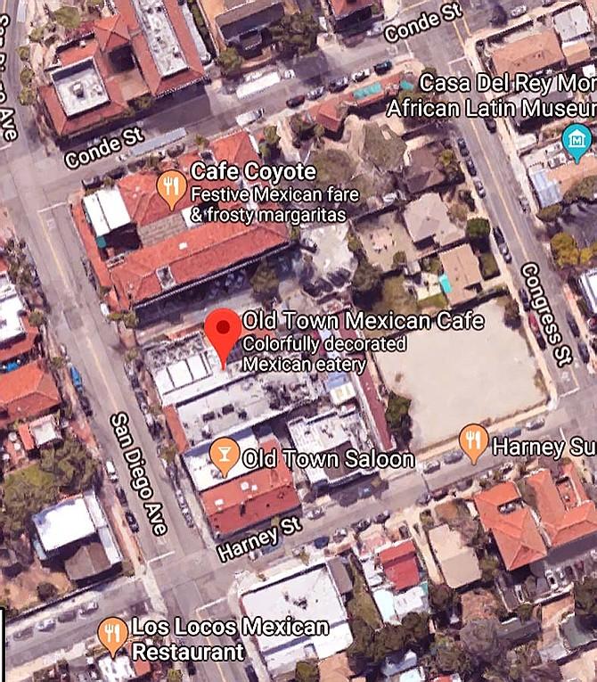 Google Maps) | San Diego Reader
