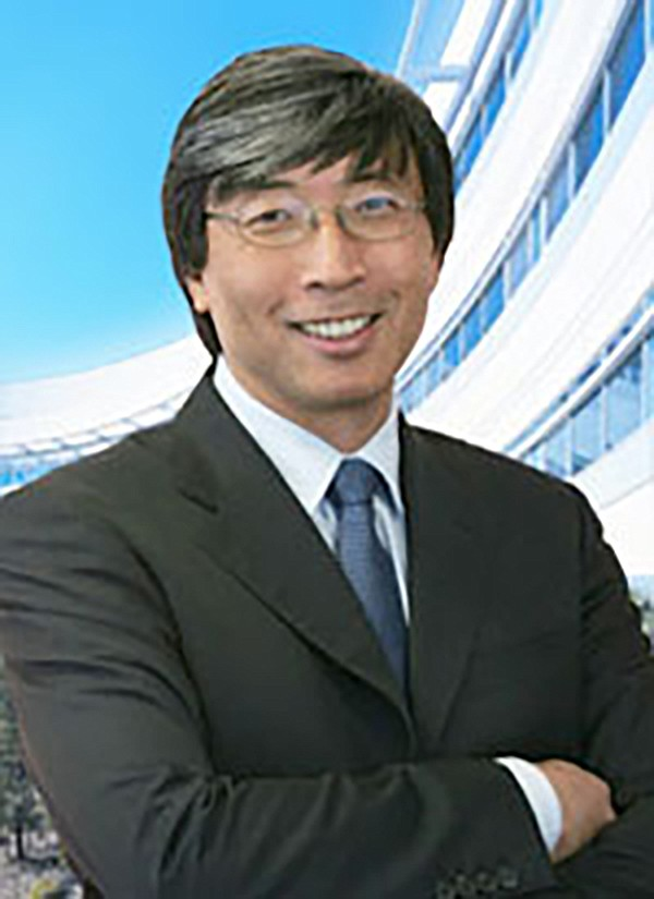 Patrick Soon-Shiong is smiling because he has apparently stopped caring about the failing Union-Tribune.