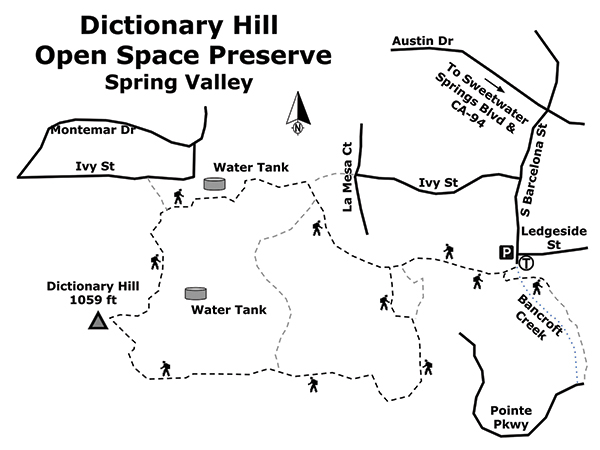 Photo: Dictionary Hill map | San go Reader on map language, map world, map jokes, map google, map math,