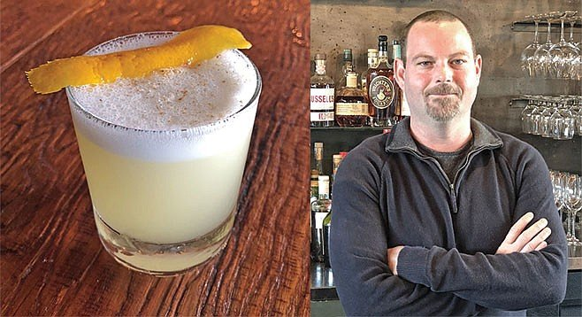 """Orange plays well with mescal,"" says Colin Berger. ""I wanted to figure out how to use it as a sweetener."