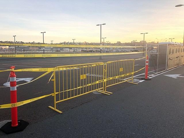 Rideshare Lot Closed