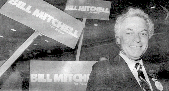 Bill Mitchell, a fifty-year-old Republican with a passion for the ethereal.
