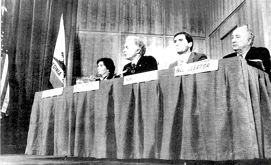 City council meeting with O'Connor, Hedgecock, Cleator