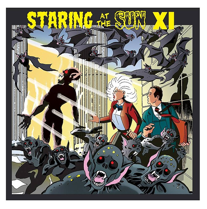 Cover artwork for Staring at the Sun XI CD by Batton Lash