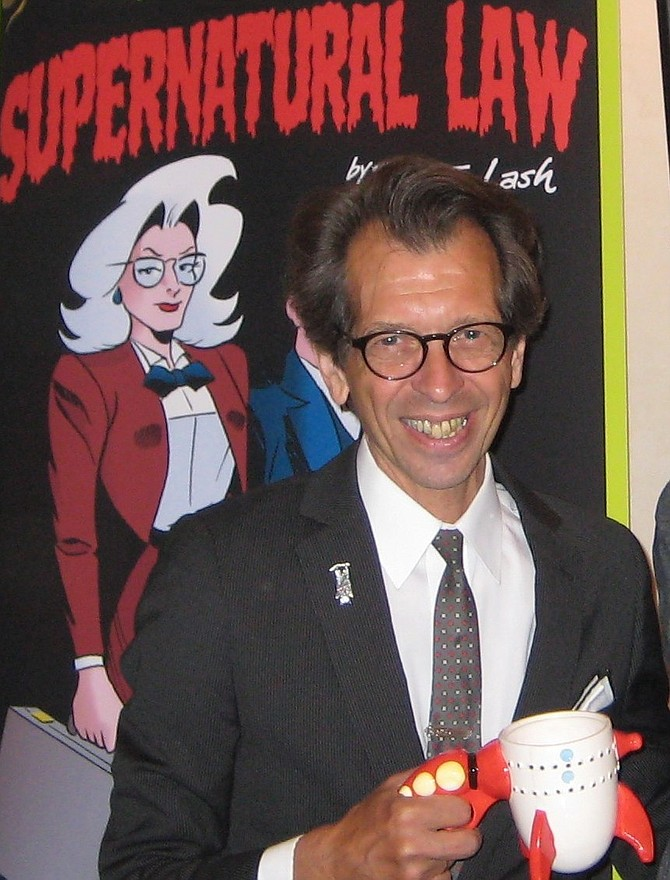 Batton Lash at San Diego Comic Fest 2013
