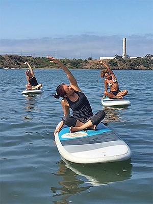 Floating Yogi