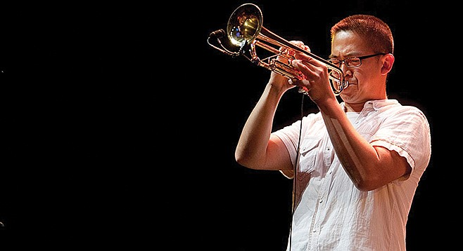 Cuong Vu opens the New FONT West trumpet festival on January 20 at the Athaneum.