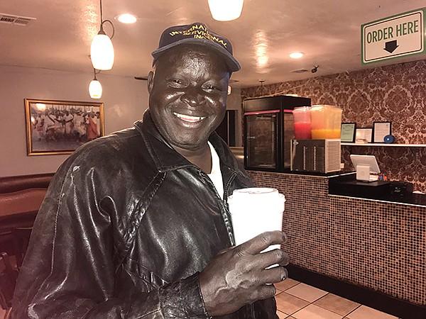 Peter Wani, coffee fan