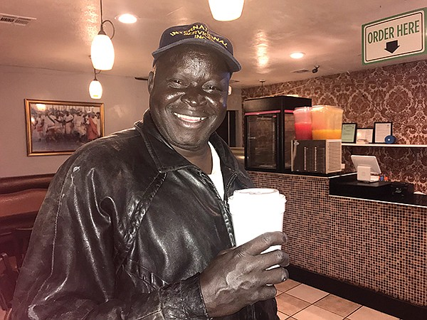Peter Wani, coffee fan