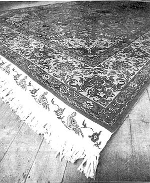 Tahriz Persian rug