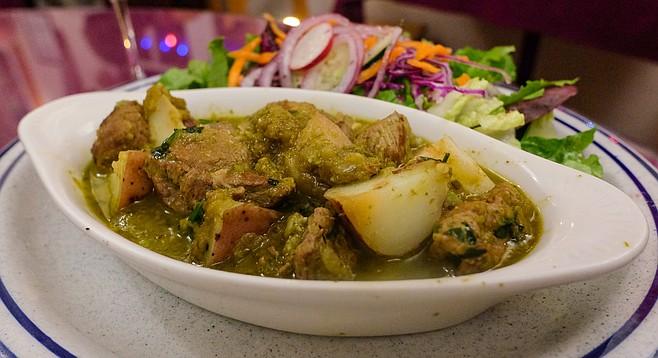 Seco de Cordero: a Peruvian lamb stew