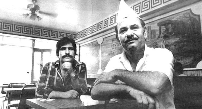 John and Michael Saridakis - Image by Jim Coit