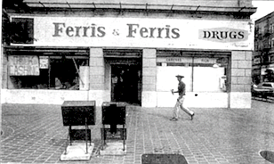 Harry Attisha, the owner of Gaslamp's Ferris & Ferris drugstore at Fifth and Market, says he first wanted to move the store.