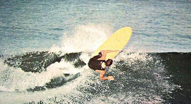 Mini Simmons: A short twin fin modeled after the surfboards of 1950s board builder, Bob Simmons, who drowned near Windansea Beach.