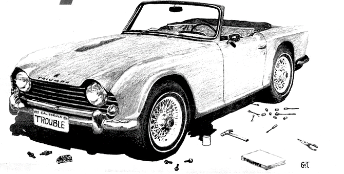 I owned what I considered to be a sensible yet jaunty sports car and still had $600. - Image by Charles Turner