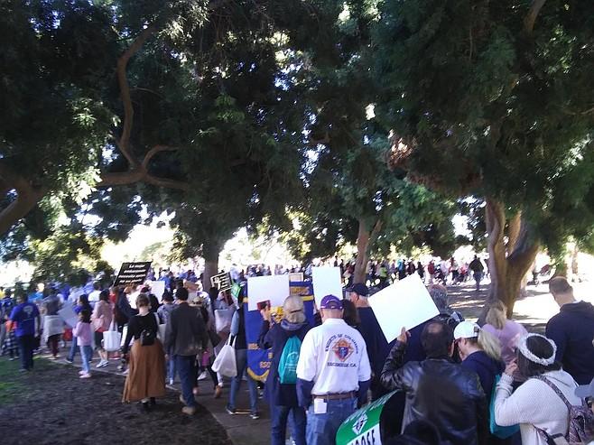 Walk for Life in Balboa Park