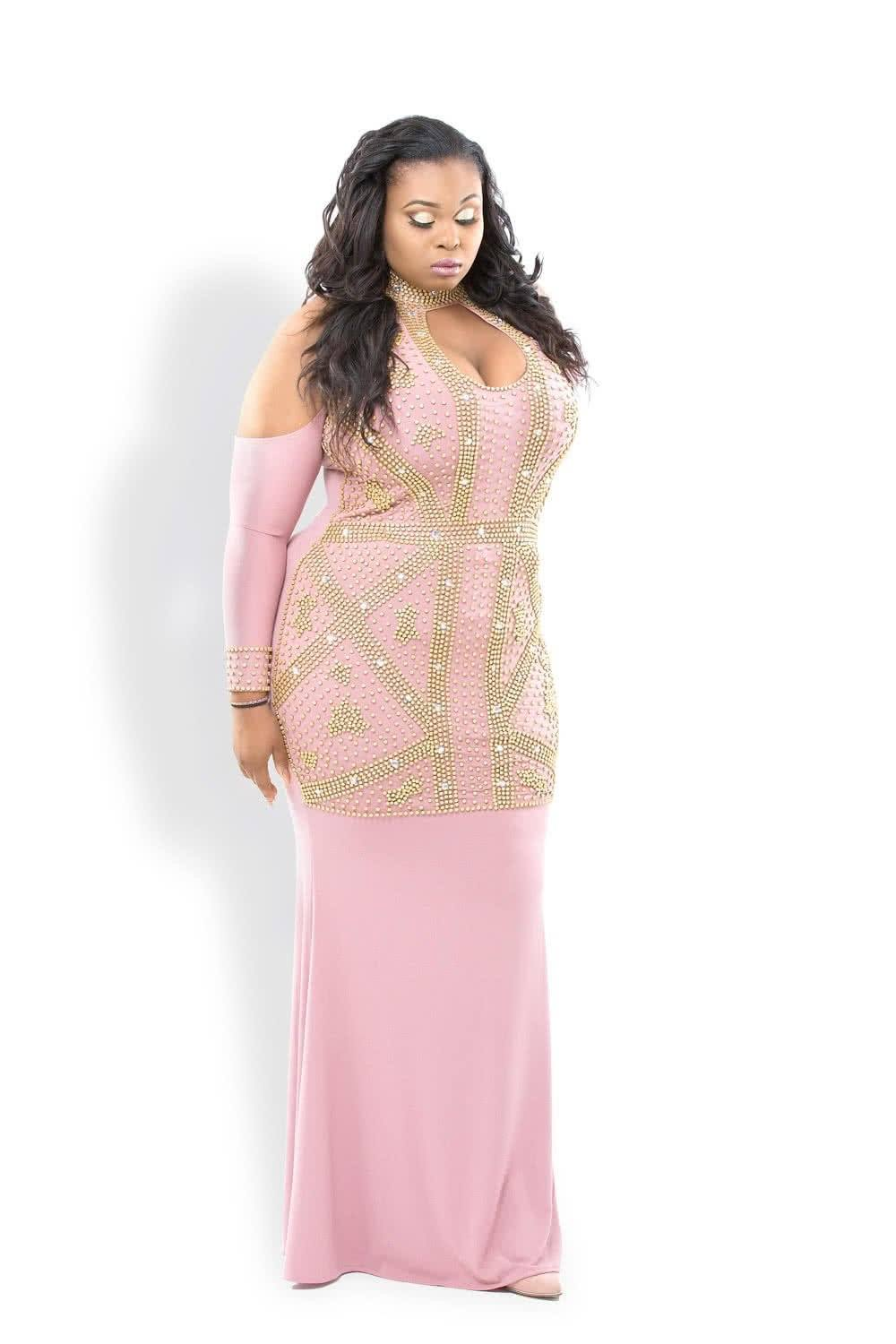 Plus Size Evening Gowns at 50% discount! Get beautiful Plus ...