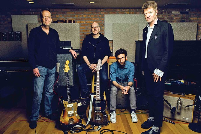 """Nels Cline, far right, says his time playing in Wilco doubles his audience at shows with his new outfit The Nels Cline 4, """"and I'm grateful for this."""""""