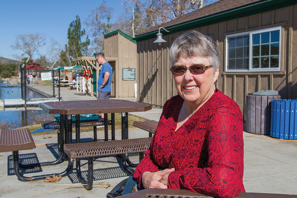Cissy grew up on a ranch at the corner of Mission Gorge and Fanita Road. In 2016, she bought a home near Santee Lakes.