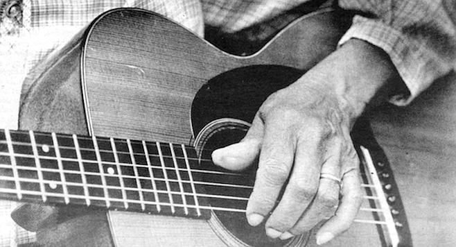 """""""My mammy bought me a guitar for $3.75 — to her sorrow."""""""