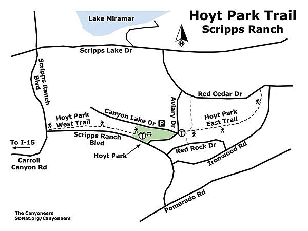 Hoyt Park Trail map