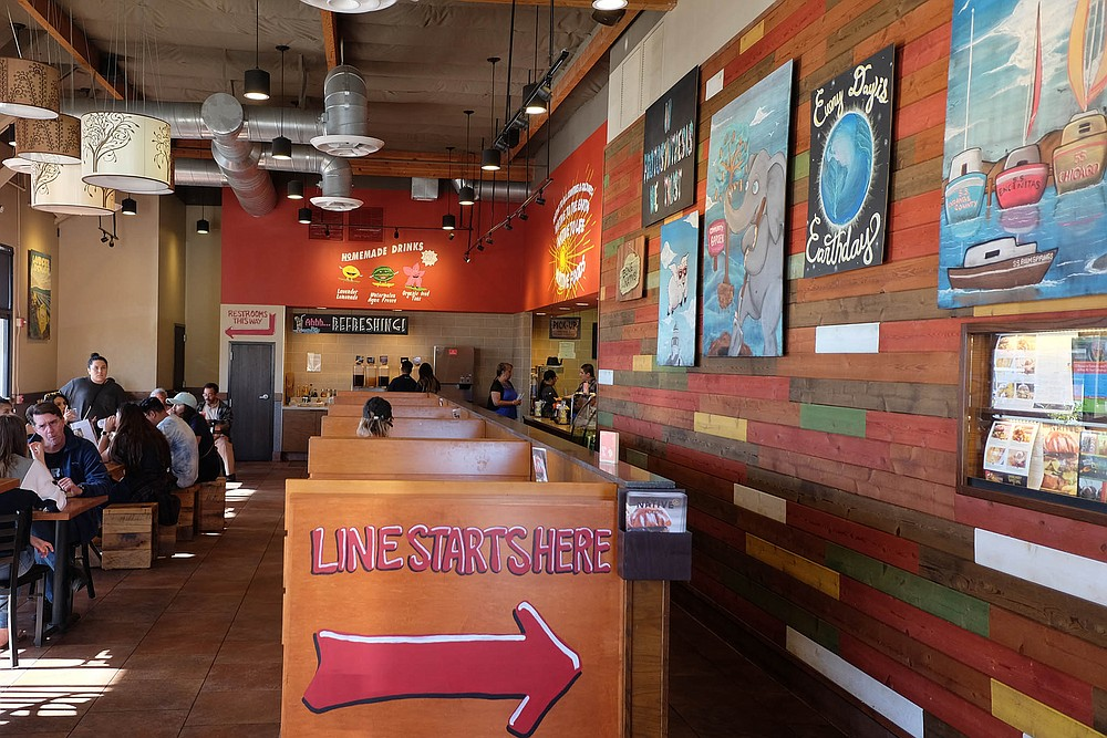 The 21st century answer to American fast food chain: 100-percent plant based