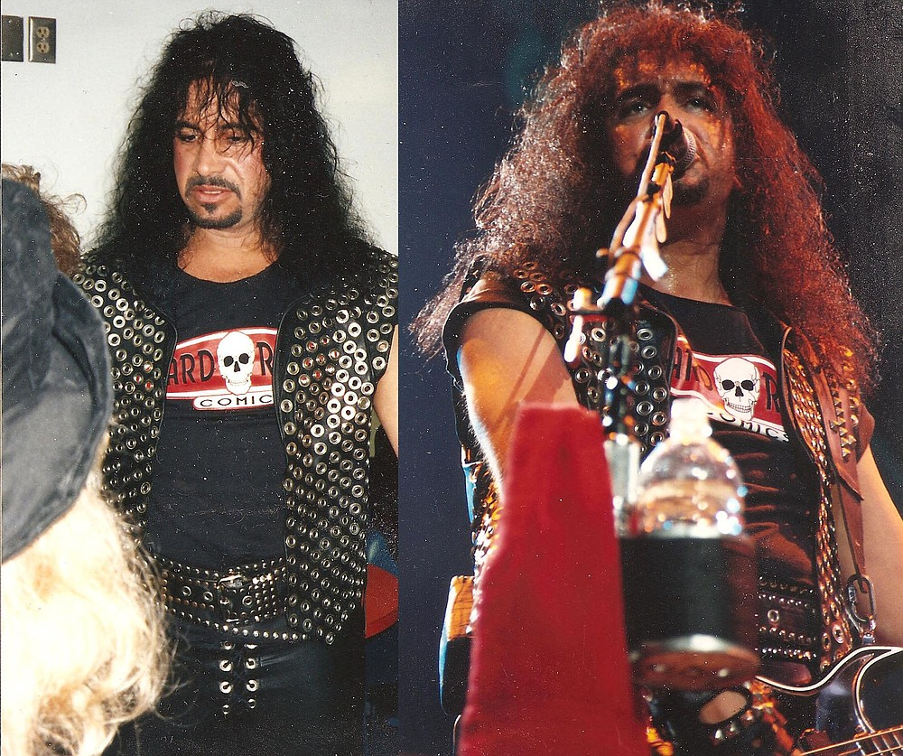Alleged Gordon groper Simmons at the taping for Kiss Alive III