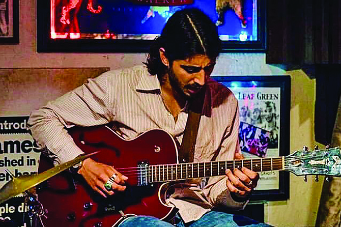 Louis Valenzuela found a venue for his weekly Jam Session.
