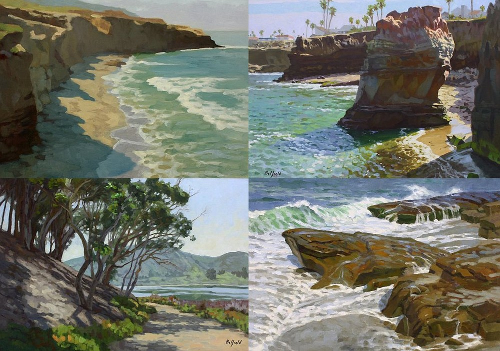 Art Reception: Scenes of San Diego