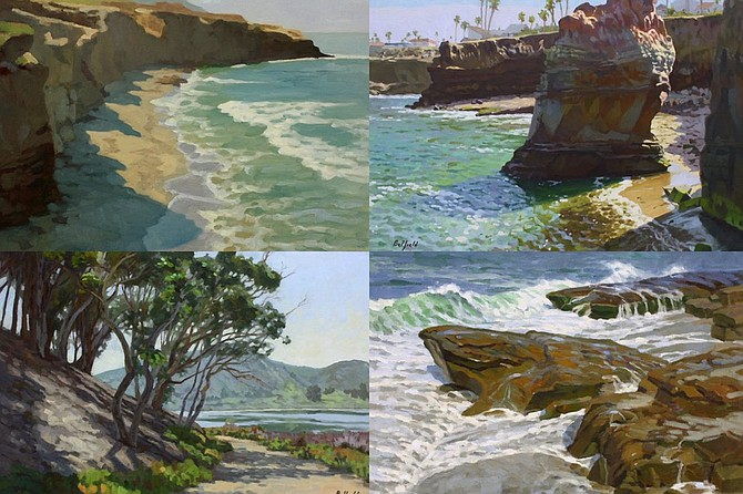 Art Reception: Scenes of San Diego