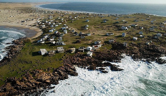Cabo Polonio from above.