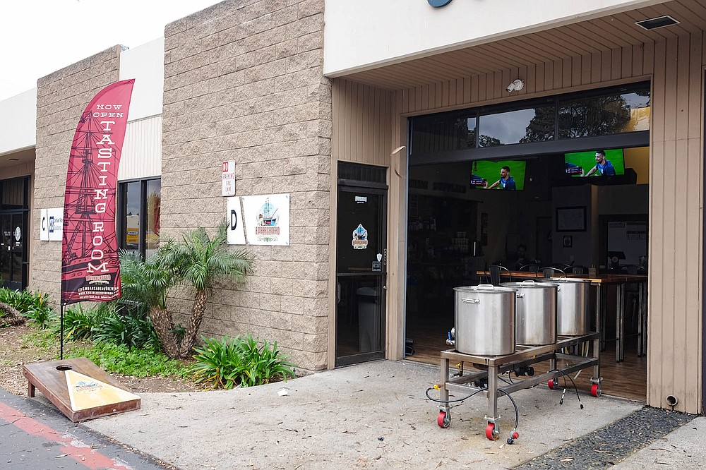 Embarcadero Brewing and Supply is National City's first brewery.