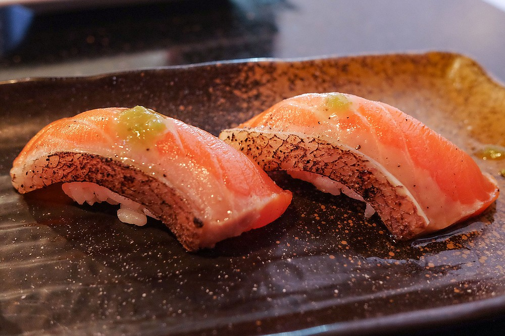 Sea trout resembles salmon, with different taste and texture.