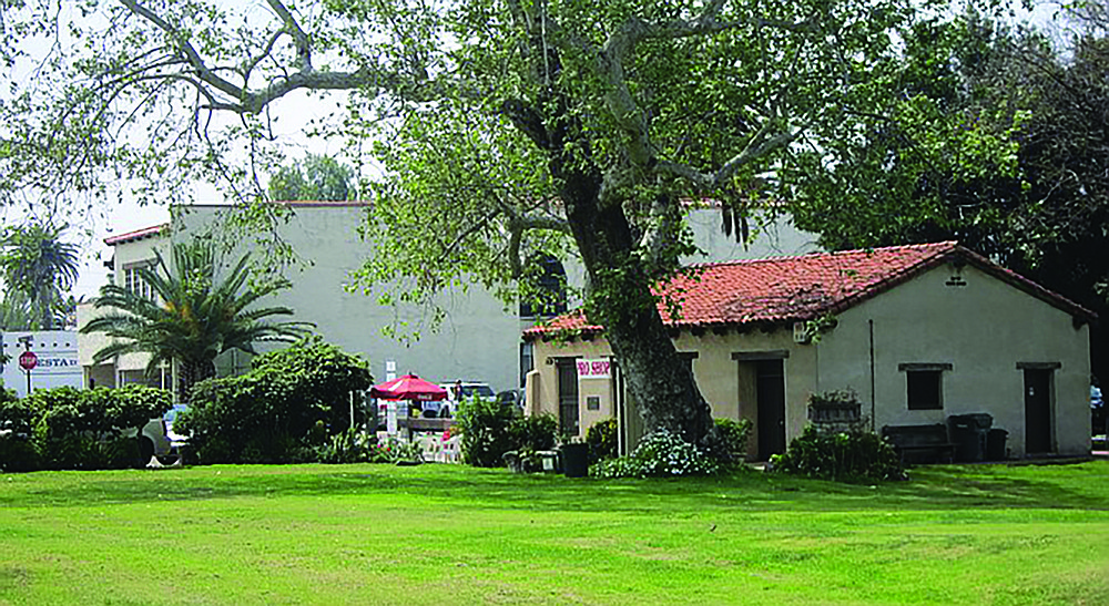 Of about 80 adobe houses built in the 1800s, only four have survived in Old Town, including this one which serves as the pro shop at Presidio Hills golf course.