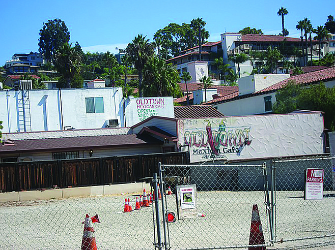 Old Town Mexican Cafe owners have let the vacant lot behind their restaurant sit undeveloped since at least the mid-1990s.