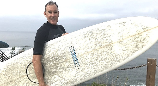 """Steve Kathey: """"When you surf, you just feel good."""""""