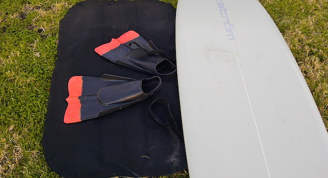 All the fun of a surfboard in something the size of a beach towel.