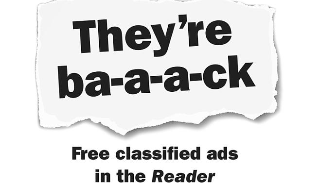 San Diego Reader Classified Ads - Feb  14, 2019 | San Diego Reader
