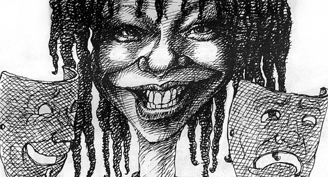 Unlike many actresses with more extensive classical training and experience, Whoopi found the right tone immediately.