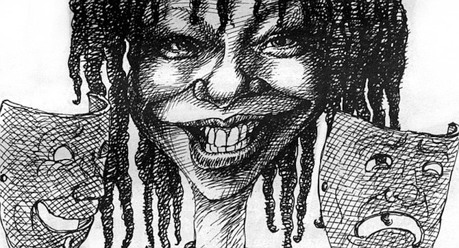 Unlike many actresses with more extensive classical training and experience, Whoopi found the right tone immediately. - Image by Mikhail Zlatkovsky