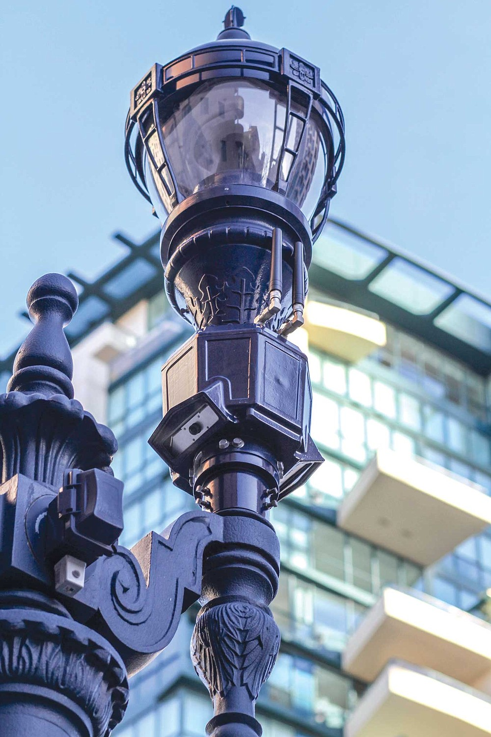 At least 3200 San Diego streetlights have been equipped with video and audio collection devices at public expense.