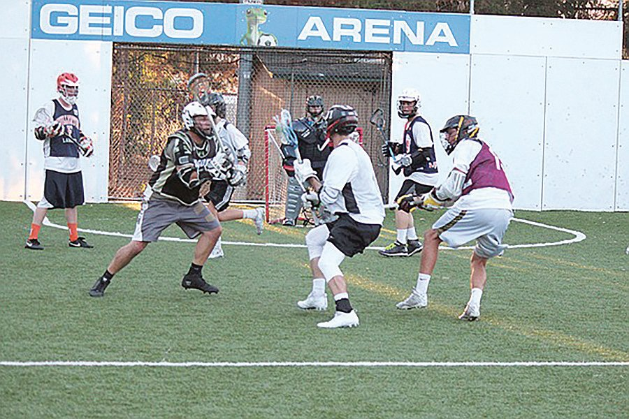 Lacrosse pick-up game