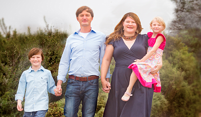 """Tasha Boerner Horvath and family: """"We have an opportunity to craft a brighter, more equal future."""""""