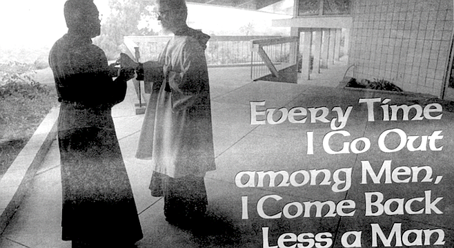 Monks at Prince of Peace in Oceanside bring back author's