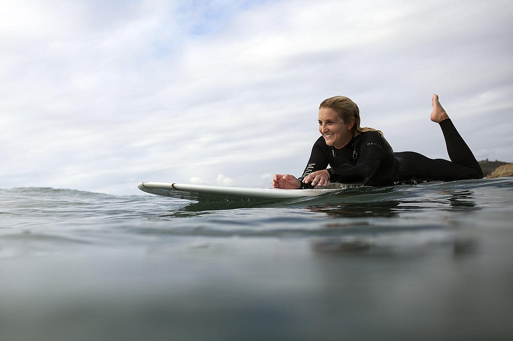 """One day, I hope to pass the tradition of surfing to my kids."""