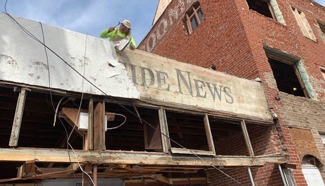 """""""The Oceanside News was an Oceanside weekly newspaper that we know was around from at least 1922 to 1936,"""""""